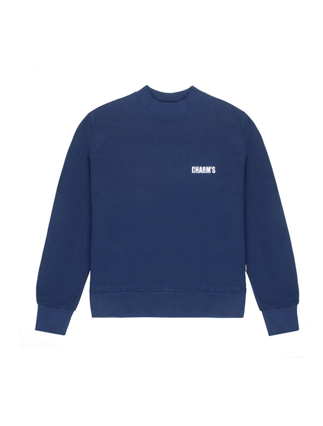Basic small logo sweatshirt / NV