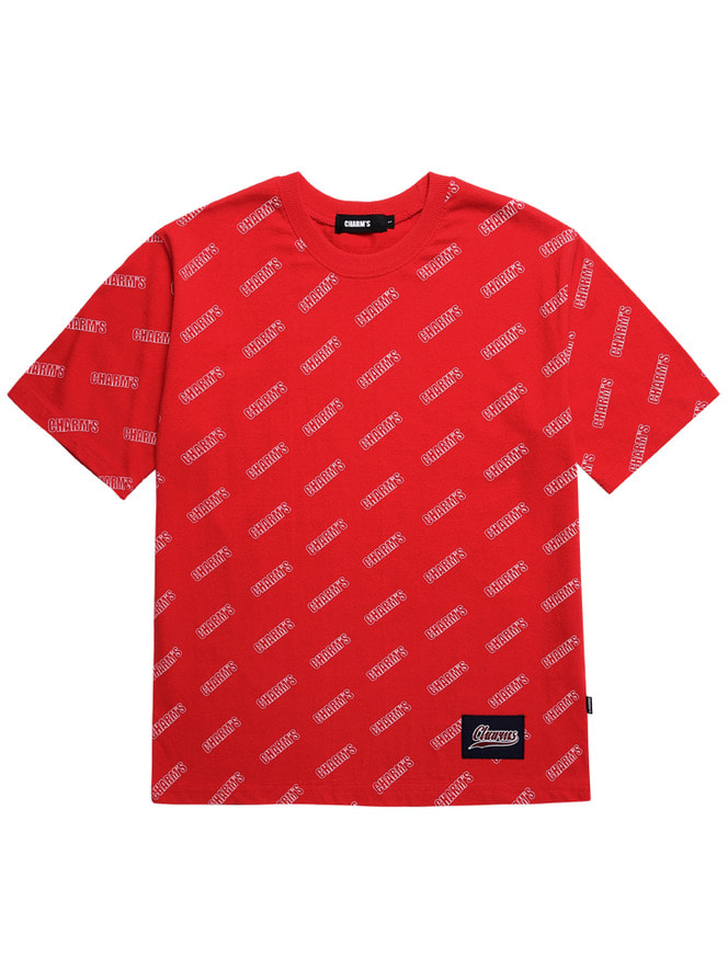 LOGO PATTERN T-shirts_RE