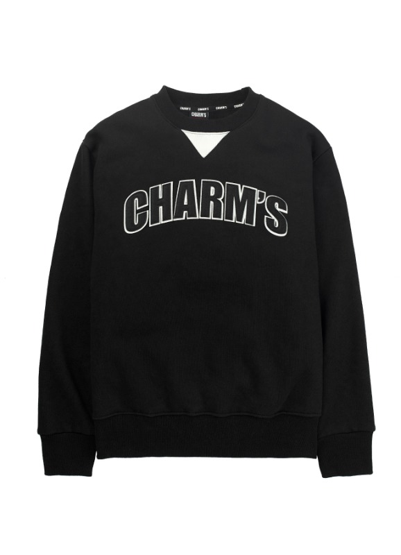 CHARMS SIGNATURE SWEATSHIRTS BK